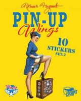 PIN-UP WINGS: POCHETTE DE STICKERS - PIN-UP / AVIONS - 1