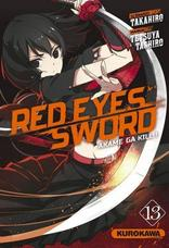 RED EYES SWORD \ AKAME GA KILL T13